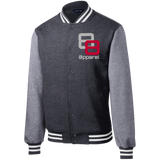 double 8 Sport-Tek Fleece Letterman Jacket