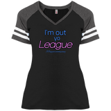 League District Ladies' Game V-Neck T-Shirt - 88apparelcompany