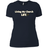 Church Life Next Level Ladies' Boyfriend T-Shirt