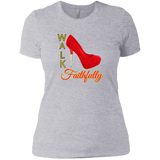 Walk Faithfully Next Level Ladies' Boyfriend T-Shirt - 88apparelcompany