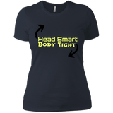 Head smart Next Level Ladies' Boyfriend T-Shirt - 88apparelcompany