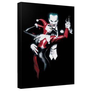 Batman - Joker And Harley Canvas Wall Art With Back Board - 88apparelcompany