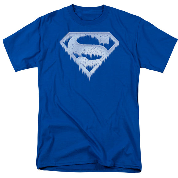 Superman - Ice And Snow Shield Short Sleeve Adult 18/1 - 88apparelcompany