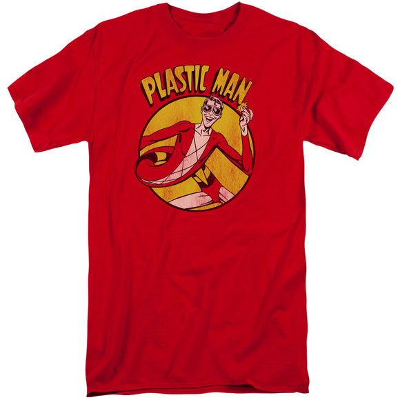 Dc - Plastic Man Short Sleeve Adult Tall - 88apparelcompany