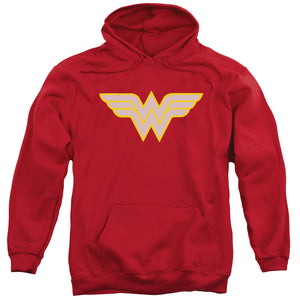 Dc - Ww Logo Adult Pull Over Hoodie - 88apparelcompany