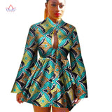 2018  African Dashiki traditional batik women coat robe longue femme print Bazin Riche women coat plus size 5xl regular WY1378 - 88apparelcompany