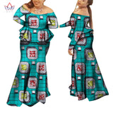 Plus Size 2018 Fashion African Sets for Women Dashik Private Custom Traditional African Clothing Sexy African Skirt Set WY964 - 88apparelcompany