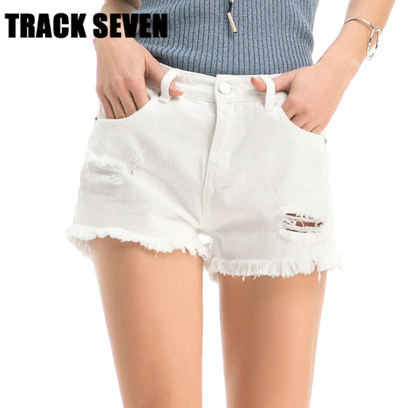 Women's summer white shorts - 88apparelcompany