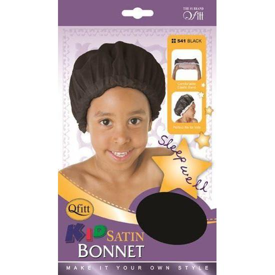 Qfitt Kid's Satin Bonnet #540/#541