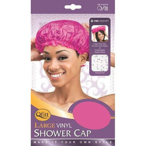 Qfitt Large Vinyl Shower Cap #180/#184