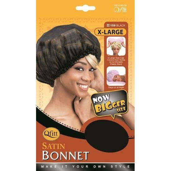 Qfitt Satin Bonnet XL #158/#159
