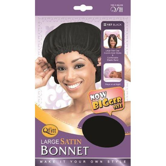 Qfitt Large Satin Bonnet #156/#157