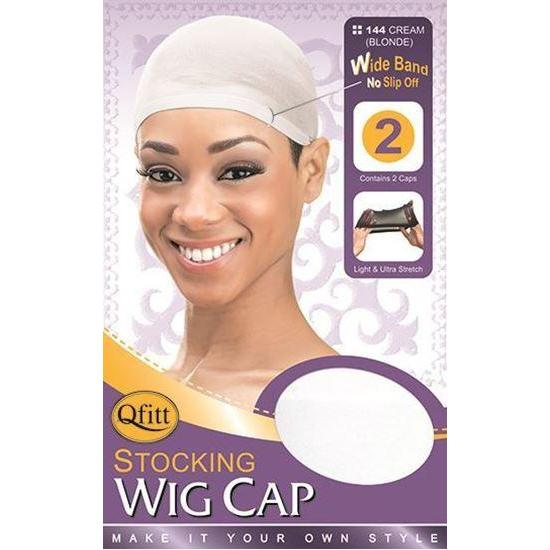 Qfitt Stocking Wig Cap #144 - Cream Blonde