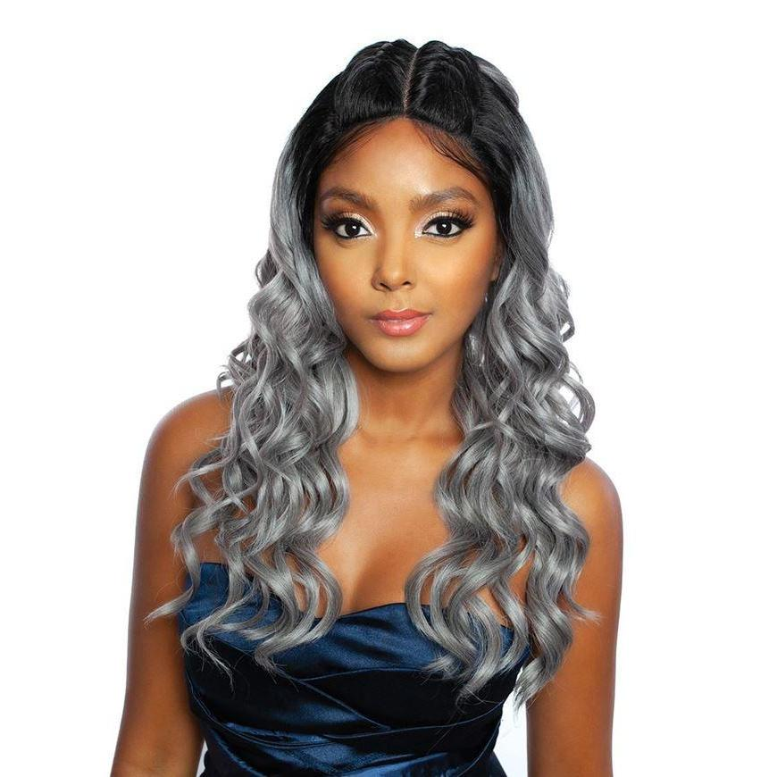 RED CARPET 3WAY TOP KNOT BRAID LACE WIG (Hot Water Set) Double French Knot 03 RCTB304