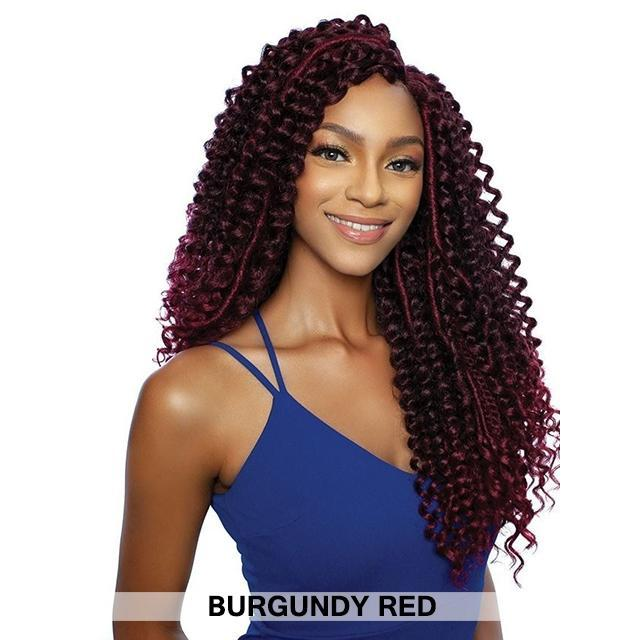 Mane Concept Red Carpet Inspire Braid Lace Part Wig - BOHO WATER WAVE 24 (RCIB103)