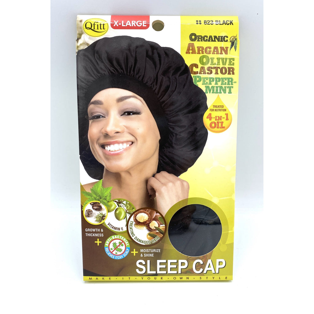 Qfitt 4 in 1 Oil Infused Sleep Cap #822/#823 XL