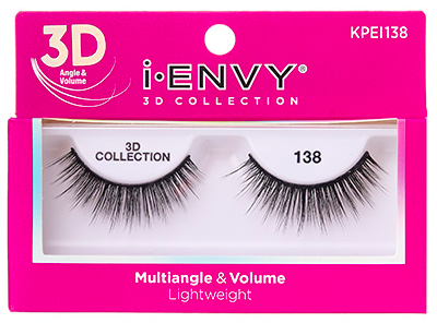 Kiss i•ENVY 3D Collection Eyelashes KPEI138