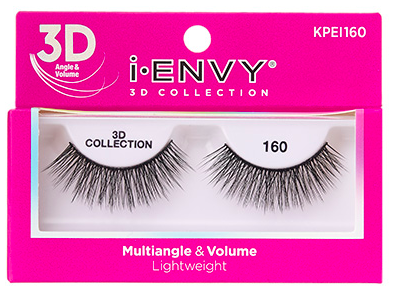 Kiss i•ENVY 3D Collection Eyelashes KPEI160