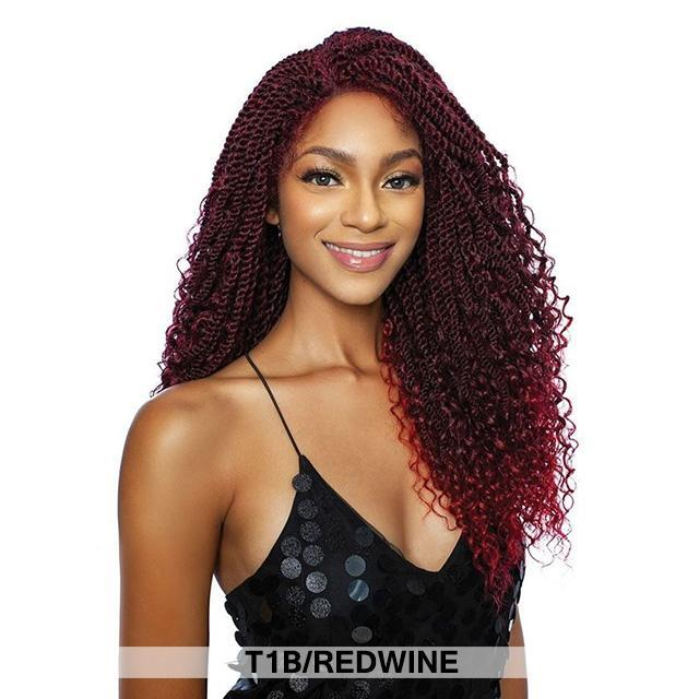 Mane Concept Red Carpet Inspire Braid Lace Part Wig - BOHEMIAN TWIST 24 (RCIB210)