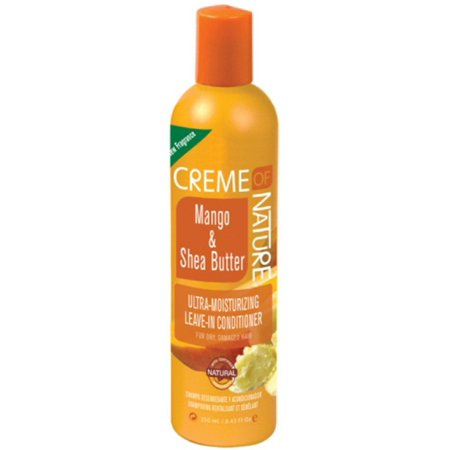Creme of Nature Ultra Moisturizing Leave-in Conditioner, Mango & Shea Butter 8.45 oz