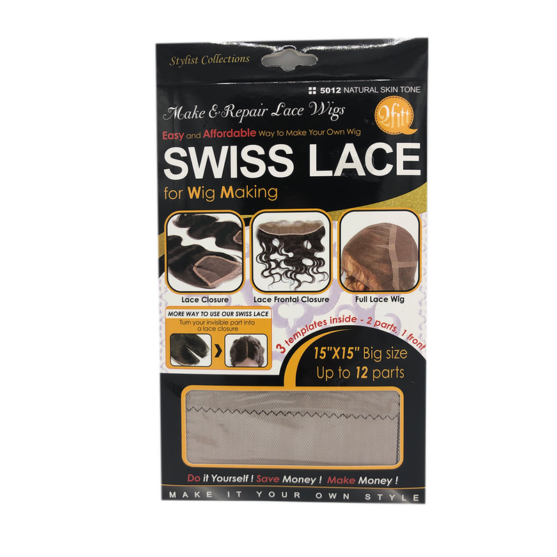 Qfitt Swiss Lace for Wig Making 5012 Natural Skin Tone