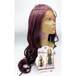 Bobbi Boss Synthetic Hair Unique Part Lace Front Wig - MLF371 ASHLYN