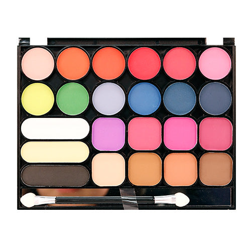 NICKA K New York Perfect Matte Colors Twenty Three 23 Palette Makeup Set
