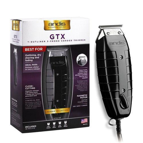 Andis T-Outliner Hair Timmer GTO 04775 Black GTX