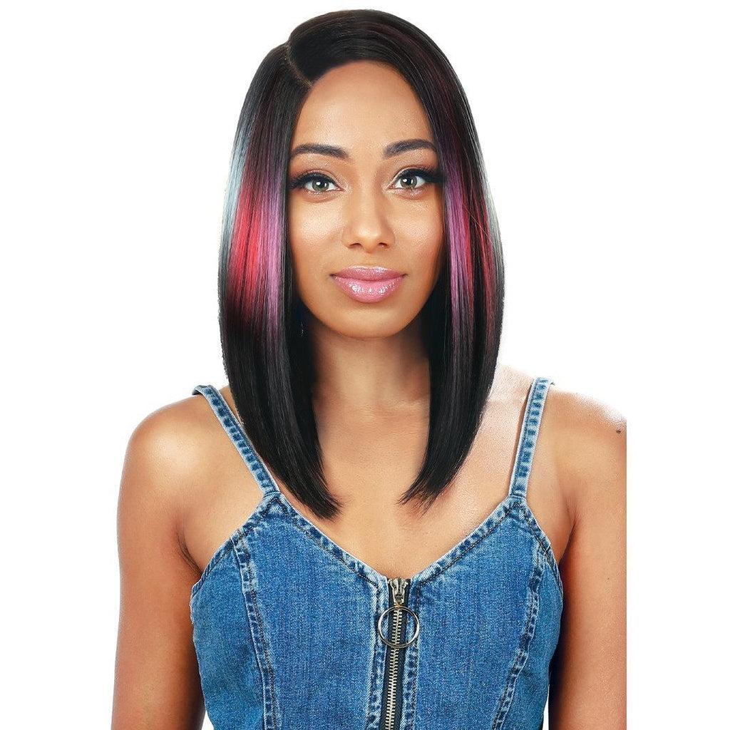 Zury Sis Beyond Synthetic Tiedye Lace Front Wig - Ben Long