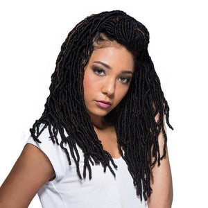 Bobbi Boss Synthetic Hair Crochet Braids African Roots Braid Collection Nu Locs 14""