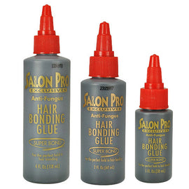 Salon Pro Anti Fungus Hair Bonding Glue Black