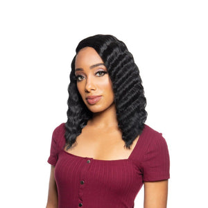 Zury Sis Beyond Synthetic Hair Lace Front Wig - BYD LACE H CRIMP 12""
