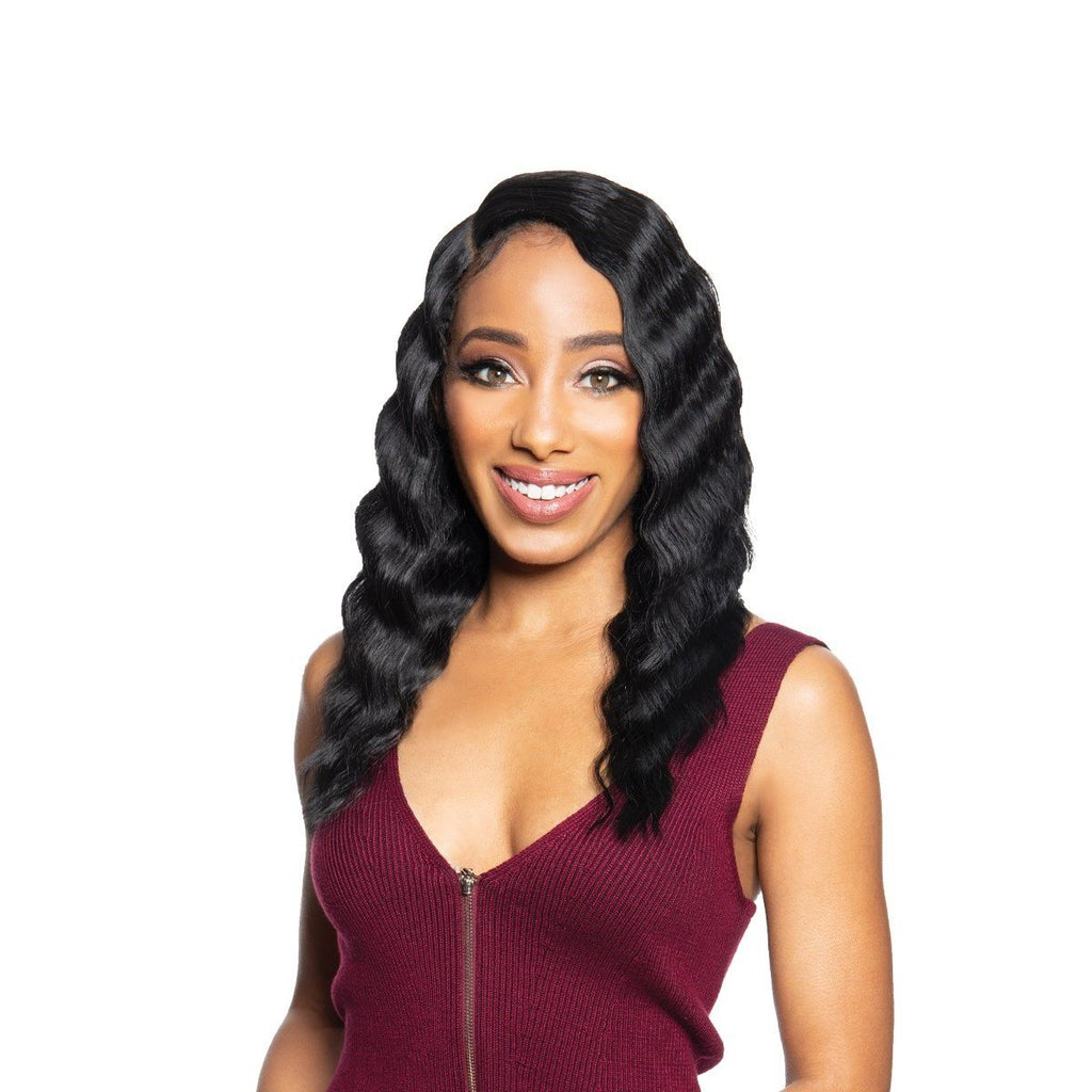 Zury Sis Beyond Synthetic Hair Lace Front Wig - BYD LACE H CRIMP 16""