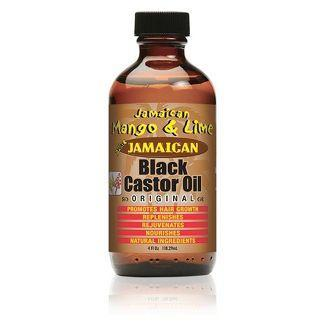 Jamaican Mango and Lime Black Castor Oil - 4 fl oz