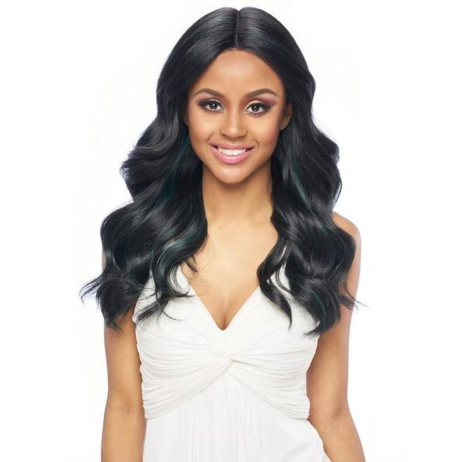 Harlem 125 Swiss Lace Wig Synthetic Hair Deep Part Wig LSD63