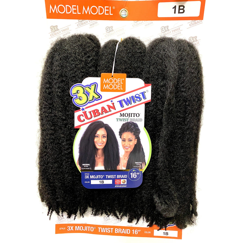 Model Model 3X Cuban Twist Braid 16