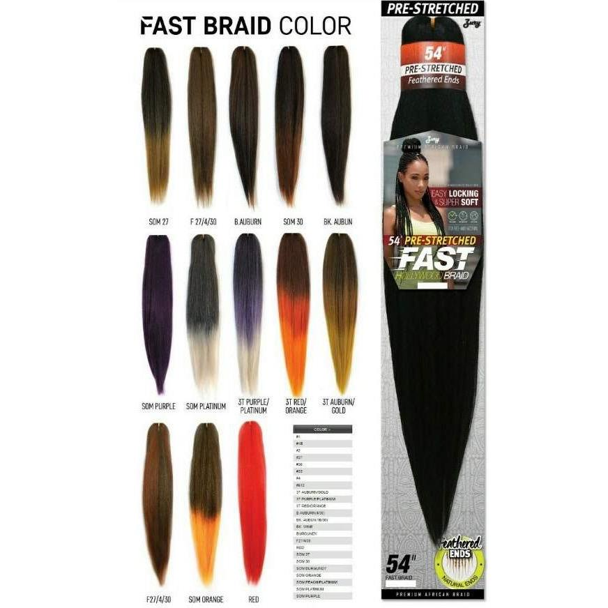 Zury Synthetic FAST BRAIDS 54""