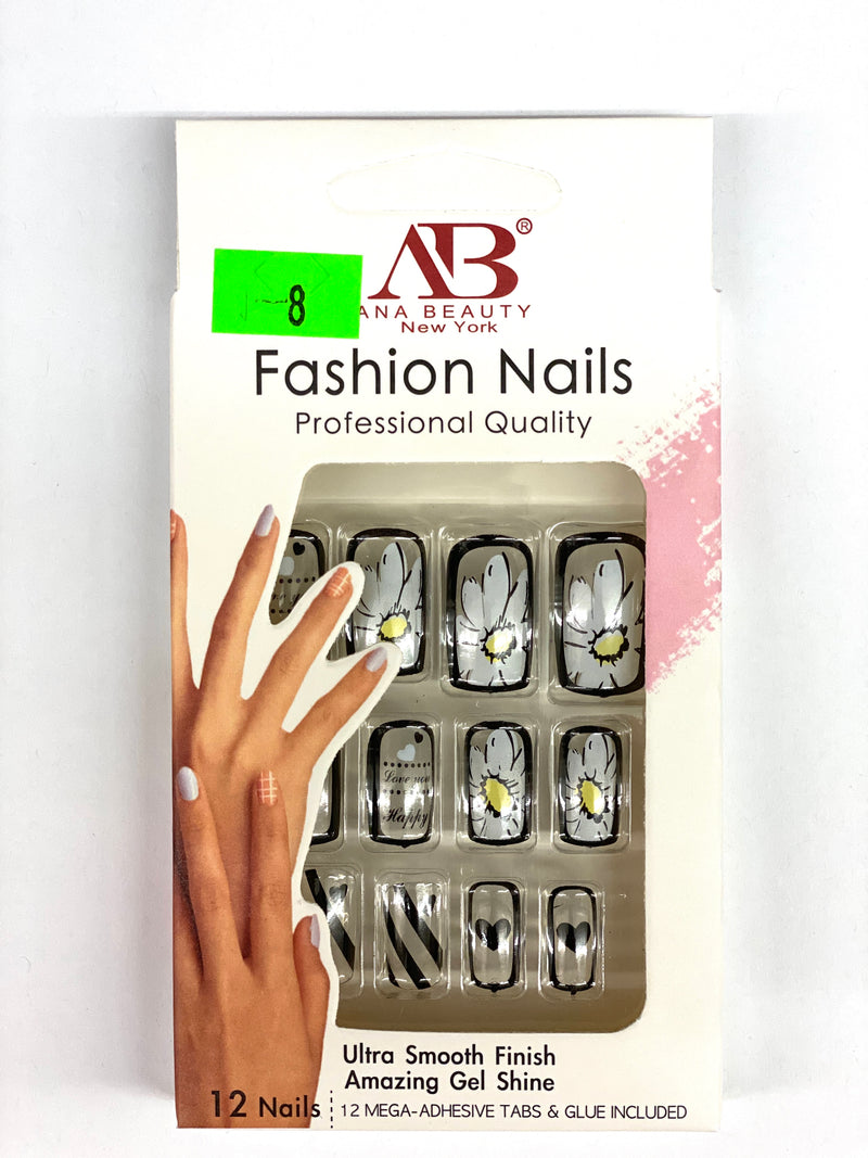 Ana Beauty Fashion Nails - A8
