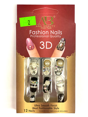 Ana Beauty Fashion Nails 3D - B2