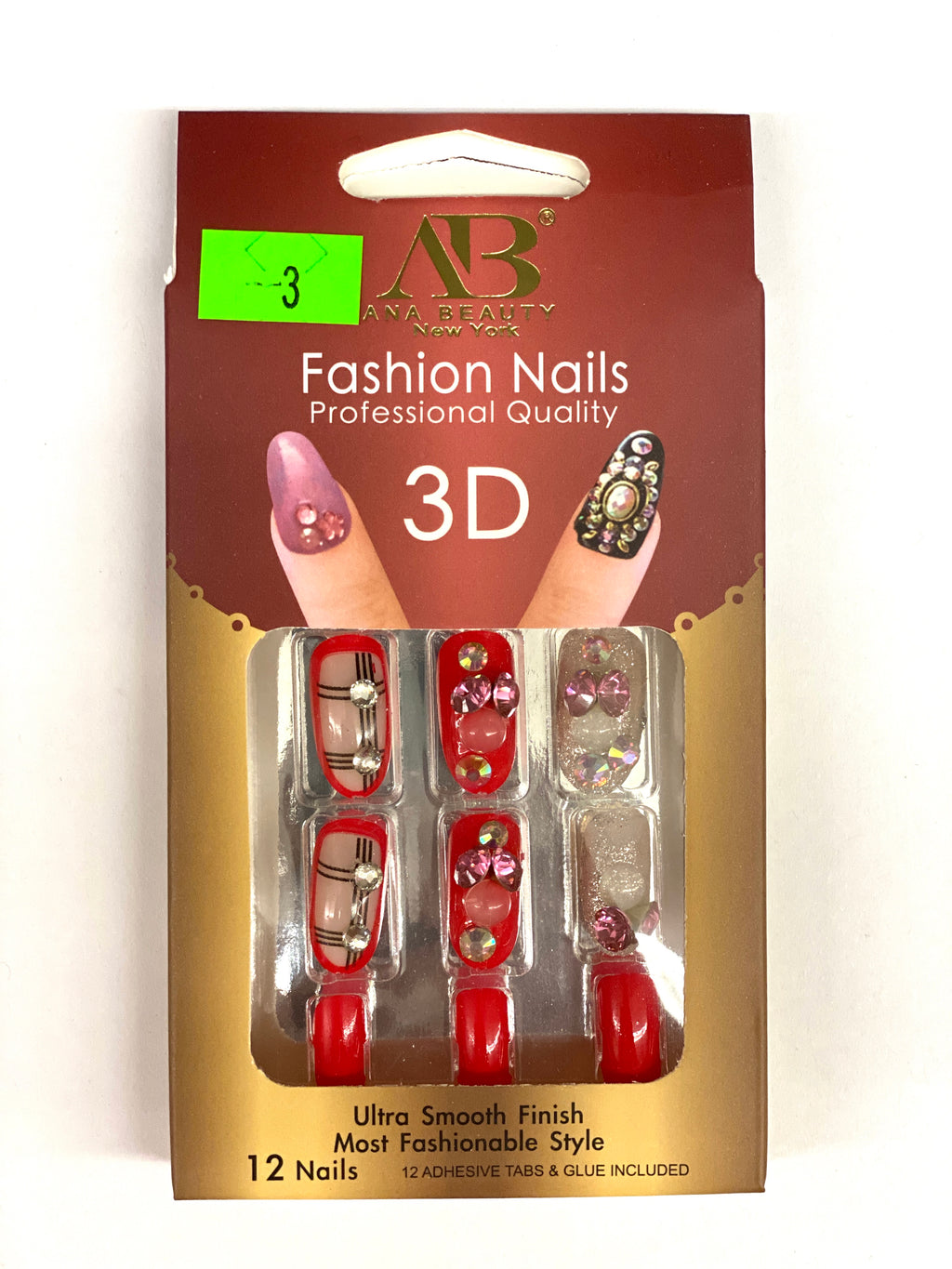 Ana Beauty Fashion Nails 3D - B3