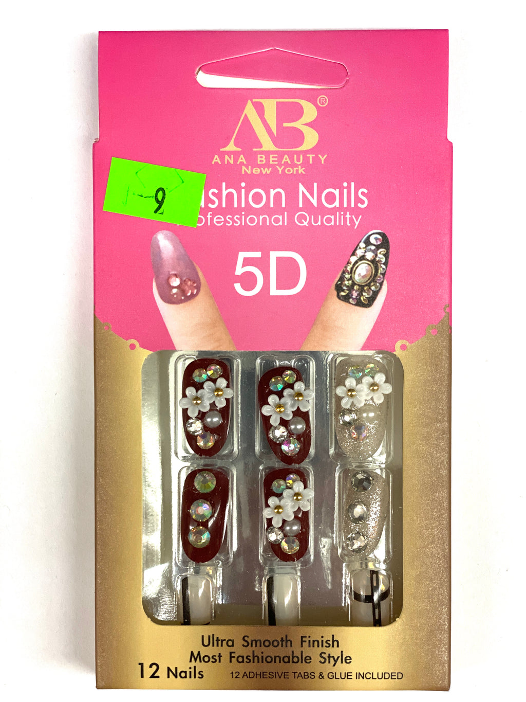Ana Beauty Fashion Nails 5D - B9