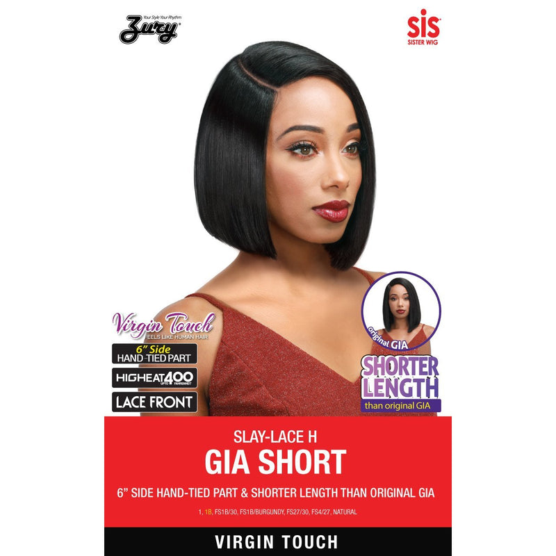 Zury Sis Beyond Synthetic Hair Lace Front Wig - SLAY LACE H GIA SHORT