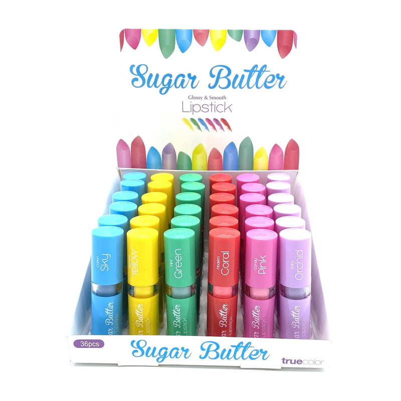 True Color Sugar Butter Lipstick - PASTEL