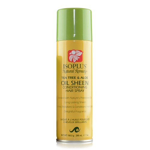 Isoplus Natural Remedy Sheen Tea Tree & Aloe Conditioning Hair Spray 7oz
