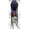 Zury Sis Double Dutch Box Braid Lace Front Wig 360 - DD LACE H DUTCH BOX