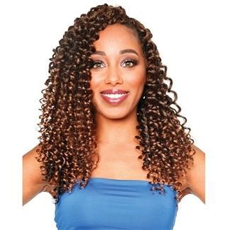 Zury Synthetic Pre-Stretched Crochet Braid - 3X HIP CURL 14
