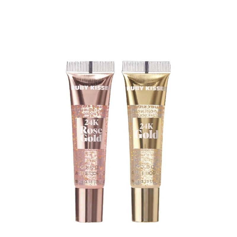 Ruby Kisses 24K Gold Oil Lip Gloss 0.33oz