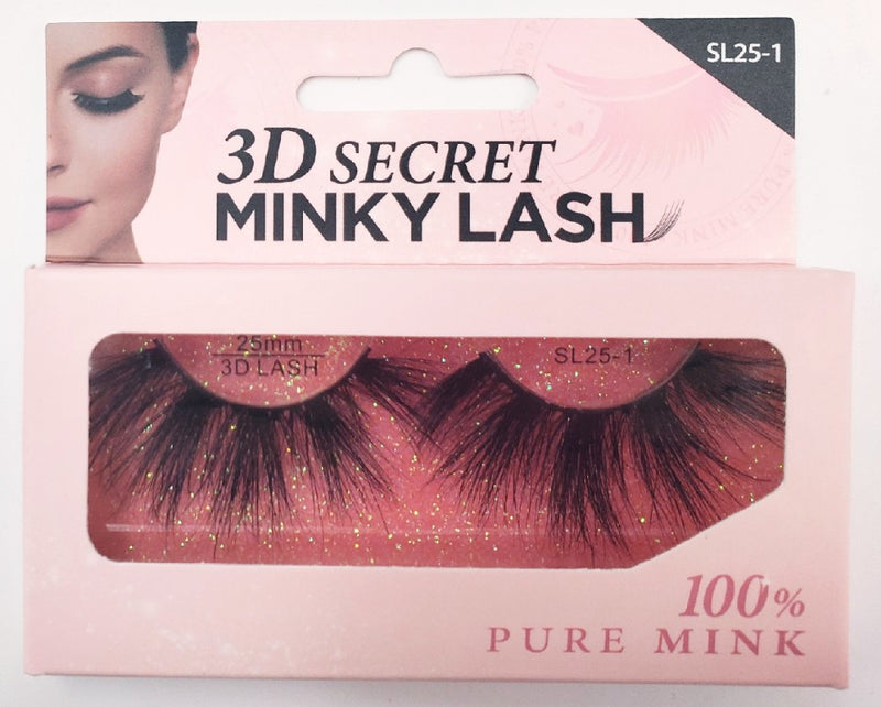 3D Secret MINKY Lash - SL25-1