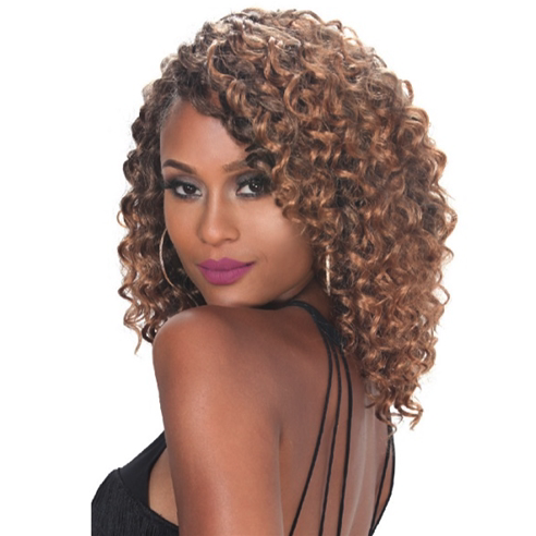 Zury: V8910 Naturali Star Synthetic Crochet Braid GOGO CURL