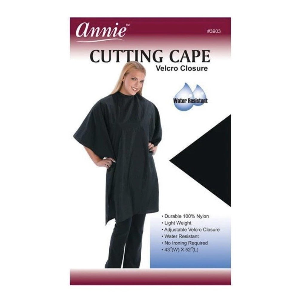 Annie: Cutting Cape with Velcro Closure # 3903